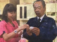 開発者の遠藤由香院長(左)と小島隆行社長
